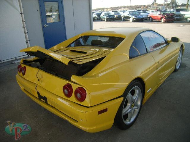 Salvage 1995 Ferrari F355 Berlinetta Are Salvage Rebuilt Cars